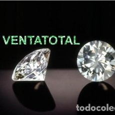 Coleccionismo de gemas: ZAFIRO BLANCO TALLA DIAMANTE DE 1,30 KILATES Y MIDE 6X6X4 MILIMETROS - Nº112. Lote 120702227