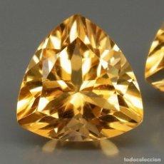 Coleccionismo de gemas: CITRINO NATURAL 9 X 9 MM.. Lote 121132767