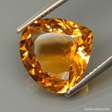 Coleccionismo de gemas: CITRINO NATURAL 12,8 X 12,5 MM.. Lote 121132967
