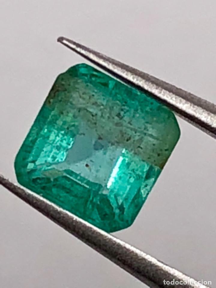 ESMERALDA DE ZAMBIA - 0.46 CT - (Coleccionismo - Mineralogía - Gemas)