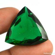 Coleccionismo de gemas: AMATISTA VERDE NATURAL DE 44.60 QUILATES - CON CERTIFICADO IGL - MUY BUENA CALIDAD. Lote 122667167