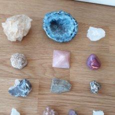 Coleccionismo de gemas: LOTE DE 13 MINERALES. Lote 125025324