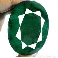 Coleccionismo de gemas: GIGANTE ESMERALDA DE MUSEO DE 890 KILATES CON CERTIFICADO KGCL - MEDIDA 6,6 X 5,1 CENTIMETROS - Nº3. Lote 125149719