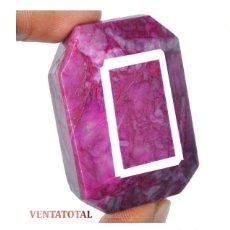 Coleccionismo de gemas: GIGANTE RUBI ROJO SANGRE DE PICHON DE 310 KILATES - MEDIDA 4,4 X 3,1 CENTIMETROS - Nº1. Lote 125156907