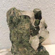 Coleccionismo de gemas: CUARZO/CROMODIOPSIDO. Lote 125822723