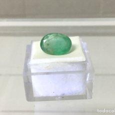Coleccionismo de gemas: ESMERALDA BRASILEÑA DE 3,3 CT. Lote 126677455