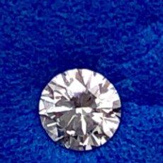 Coleccionismo de gemas: DIAMANTE NATURAL INMACULADO GRADO F - 0.12 CT - LASER INSCRIPCIÓN IGI 310857295. Lote 128349899