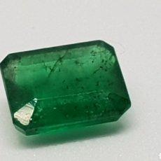 Coleccionismo de gemas: ESMERALDA NATURAL, 1,30 CT VERDE OSCURO. Lote 112855412