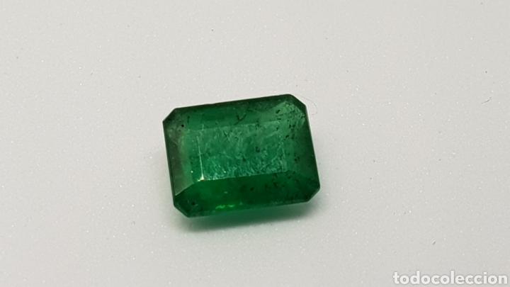 Coleccionismo de gemas: Esmeralda natural, 1,30 ct verde oscuro - Foto 2 - 112855412