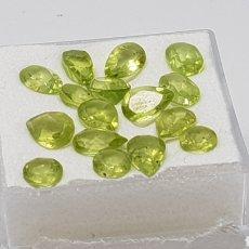 Coleccionismo de gemas: PERIDOTO NATURAL DE 0,40 CT Y 6X4 MM COLOR VERDE INTENSO , PRECIO UNIDAD 10 EU. Lote 129525856