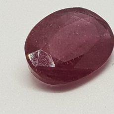 Coleccionismo de gemas: RUBÍ DE 5,65 CT COLOR ROJO SANGRE CLARIDAD SEMITRASPARENTE. Lote 129639119