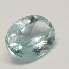 Coleccionismo de gemas: AGUAMARINA 3,55CT CLARIDAD VVSS1. Lote 129639715
