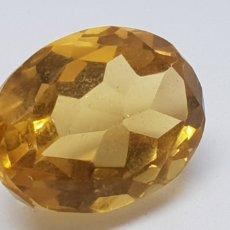 Coleccionismo de gemas: CITRINO 12,50 AMARILLO NARANJA. Lote 129670027