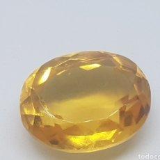 Coleccionismo de gemas: CITRINO DE 13,55 CT DE GRAN CALIDAD. Lote 70166082