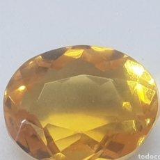 Coleccionismo de gemas: CITRINO DD 11,20 CT COLOR AMARILO NARANJA INTENSO. Lote 130939635