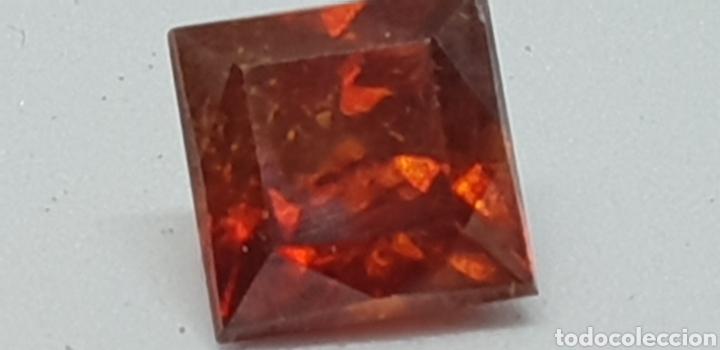 ESFALERITA DE 2,20 CT COLOR NARANJA ROJIZO (Coleccionismo - Mineralogía - Gemas)