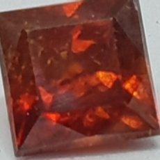 Coleccionismo de gemas: ESFALERITA DE 2,20 CT COLOR NARANJA ROJIZO. Lote 131015425