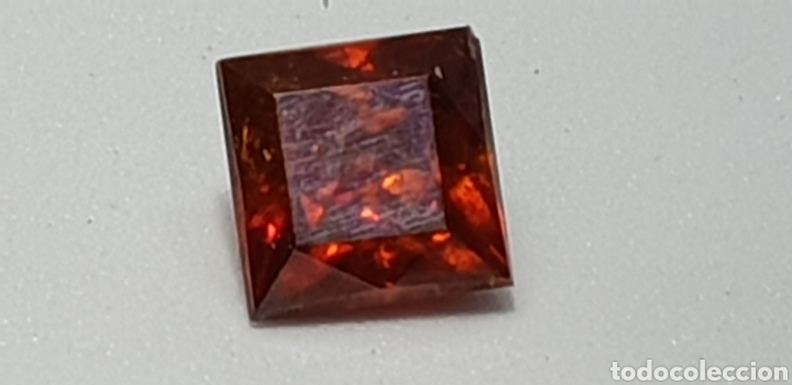 Coleccionismo de gemas: Esfalerita de 2,20 ct Color naranja rojizo - Foto 2 - 131015425