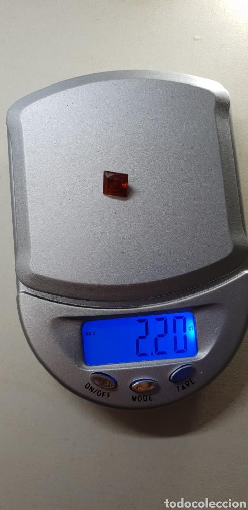 Coleccionismo de gemas: Esfalerita de 2,20 ct Color naranja rojizo - Foto 3 - 131015425