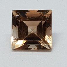 Coleccionismo de gemas: TOPACIO COLOR IMPERIAL DE 3,25 CT TALLA PRINCESA CLARIDAD VVSS1. Lote 131015671