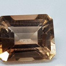 Coleccionismo de gemas: TOPACIO COLOR IMPERIAL DE 5 CT TALLA ESMERALDA , CLARIDAD VVSS1. Lote 131015723