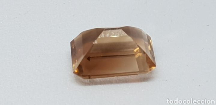 Coleccionismo de gemas: Topacio color imperial de 5 ct Talla esmeralda , claridad VVSS1 - Foto 2 - 131015723