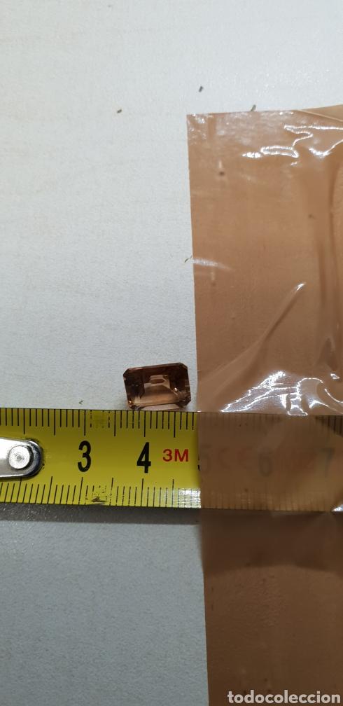 Coleccionismo de gemas: Topacio color imperial de 5 ct Talla esmeralda , claridad VVSS1 - Foto 4 - 131015723