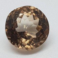 Coleccionismo de gemas: TOPACIO IMPERIAL DE 5,05 CT TALLA REDONDA. Lote 131015743