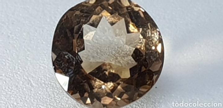 Coleccionismo de gemas: Topacio imperial de 5,05 ct Talla redonda - Foto 3 - 131015743