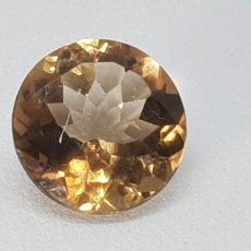 Coleccionismo de gemas: TOPACIO IMPERIAL DE 3,90 CT TALLA BRILLANTE. Lote 131015861