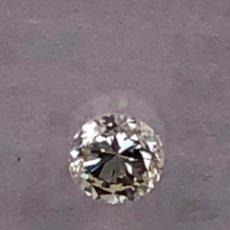 Coleccionismo de gemas: DIAMANTE NATURAL ENCAPSULADO IGI. GRADO K - 0.12 CT - VS2. Lote 132688778