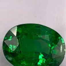 Coleccionismo de gemas: TSAVORITA 1.09 CT - IGI CERTIFICADO Y ENCAPSULADO. Lote 132695022