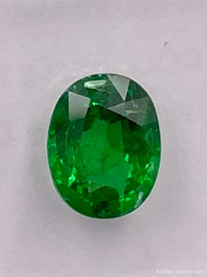 Coleccionismo de gemas: TSAVORITA 1.09 CT - IGI CERTIFICADO Y ENCAPSULADO - Foto 4 - 132695022