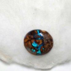 Coleccionismo de gemas: BONITO ÓPALO OVALADO BOULDER AUSTRALIANO. Lote 133173749