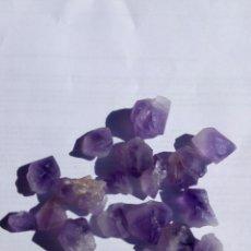 Coleccionismo de gemas: LOTE DE 18 AMATISTAS NATURALES. Lote 134179453