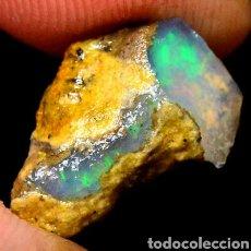 Coleccionismo de gemas: OPALO EN ESTADO PURO. Lote 134214538