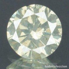 Coleccionismo de gemas: DIAMANTE NATURAL 0.29 CARATS CERTIFICADO IGR TALLA BRILLANTE CLARO OPORTUNIDAD!!!. Lote 136233106