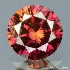 Coleccionismo de gemas: 0.16 CTS DIAMANTE NATURAL COLOR PURPURA. EXCELENTE CALIDAD. CERTIFICADO IGR. Lote 139085486