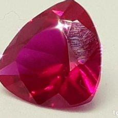 Coleccionismo de gemas: RUBÍ DE 4, 05CT ROJO MORADO INTENSO VS2. Lote 139117906