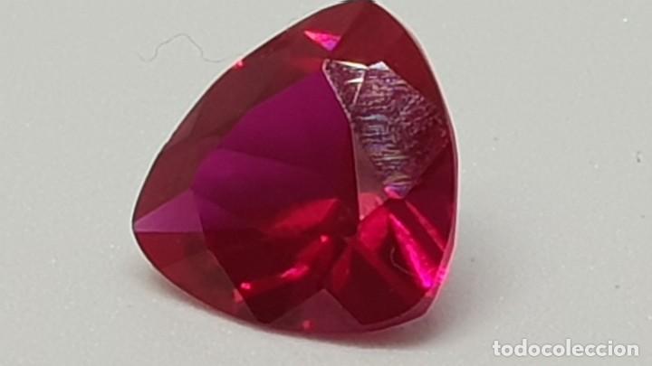 Coleccionismo de gemas: Rubí de 4, 05ct rojo morado intenso VS2 - Foto 3 - 139117906
