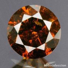 Coleccionismo de gemas: 0,27 CTS DIAMANTE NATURAL COLOR DEEP BLOOD RED. EXCELENTE CALIDAD. CERTIFICADO. Lote 139182018