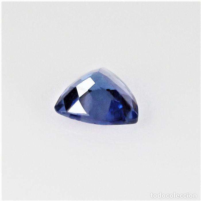 Coleccionismo de gemas: TanzaniTa 072.CT - Certificado IGI - VIOLETA AZULADO INTENSO Trillón de corte 5.93 x 5.89 x 3.30 mm. - Foto 4 - 139737258