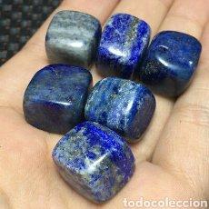 Coleccionismo de gemas: 6 LAPIZLAZULI NATURALES. Lote 140941758