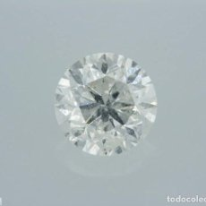 Coleccionismo de gemas: 0.96 CTS DIAMANTE NATURAL COLOR BLANCO. COLOR F, CLARIDAD I1. CERTIFICADO IGL. Lote 141533850