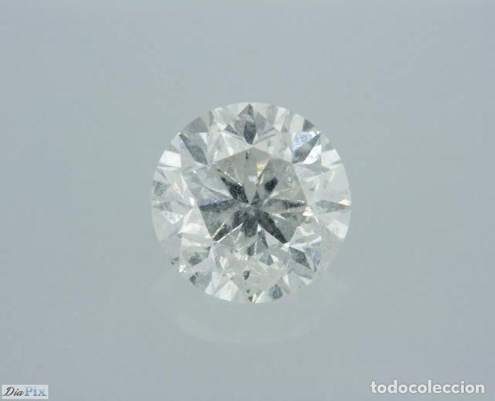 Coleccionismo de gemas: 0.96 CTS DIAMANTE NATURAL COLOR BLANCO. Color F, claridad I1. CERTIFICADO IGL - Foto 3 - 141533850