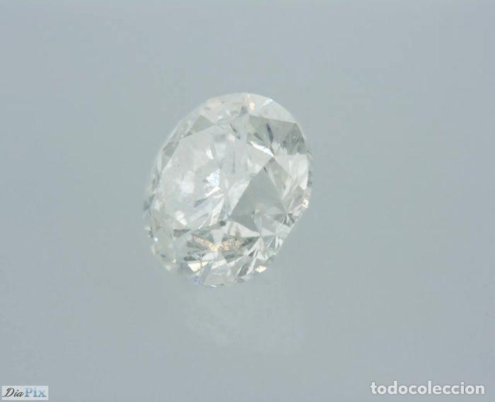 Coleccionismo de gemas: 0.96 CTS DIAMANTE NATURAL COLOR BLANCO. Color F, claridad I1. CERTIFICADO IGL - Foto 4 - 141533850