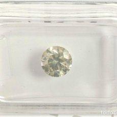 Coleccionismo de gemas: 0.91 CTS DIAMANTE NATURAL COLOR AMARILLO.CLARIDAD SI2. CERTIFICADO IGL. Lote 141535730