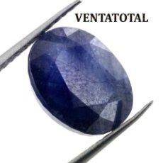 Coleccionismo de gemas: GIGANTE ZAFIRO AZUL AFRICANO DE 170 KILATES CON CERTIFICADO KGCL-MEDIDA 3,6 X 2,8 X 1,6 CENTIME-Nº2. Lote 142739450