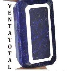 Coleccionismo de gemas: GIGANTE ZAFIRO AZUL AFRICANO DE 715 KILATES CON CERTIFICADO KGCL-MEDIDA 5,3 X 3,3 X 3,4 CENTIME-Nº1. Lote 142739522
