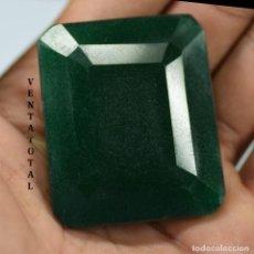 Coleccionismo de gemas: GIGANTE ESMERALDA DE COLOMBIA DE 615 KILATES CON CERTIFICADO KGCL-MEDIDA 6,2 X 4,3 X 2,6 CENTIME-Nº5. Lote 142739846